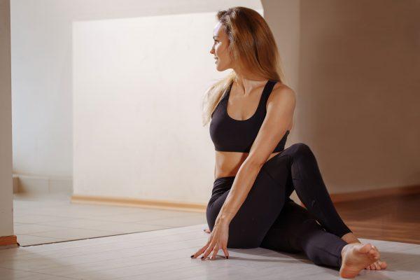 joga a odchudzanie - ćwiczenia