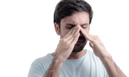 zespół pustego nosa u mężczyzny