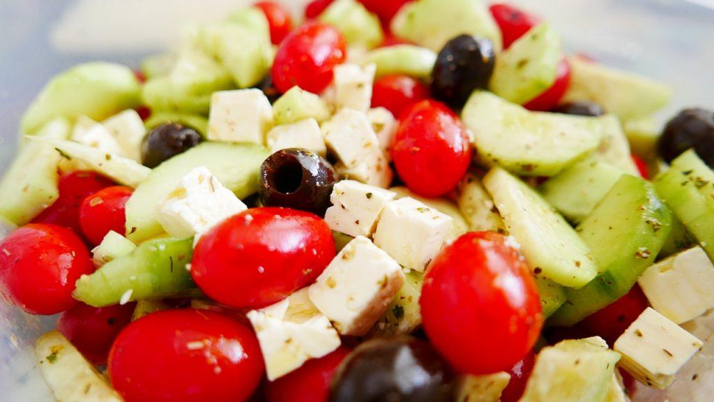 Mediterranean diet - Greek salad